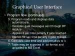 graphical user interface4