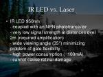ir led vs laser1