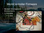 microcontroller firmware2