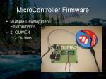 microcontroller firmware4