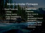 microcontroller firmware7