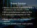 power solution1