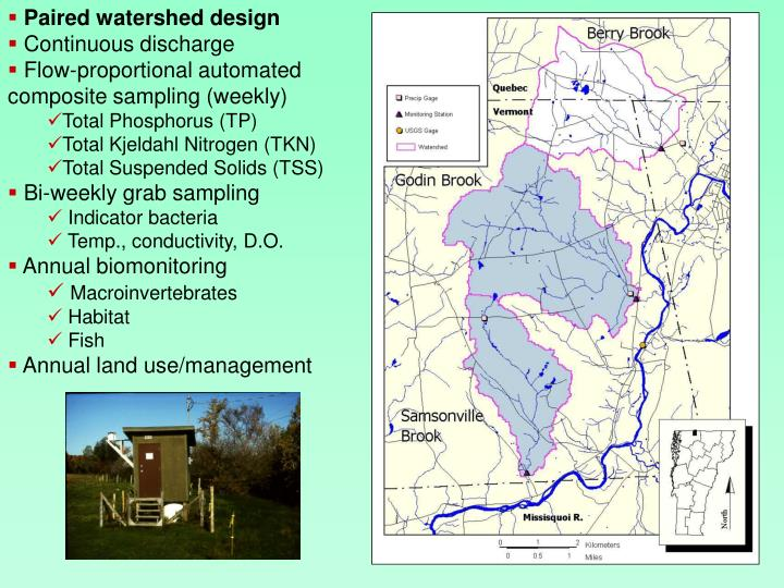 Paired watershed design