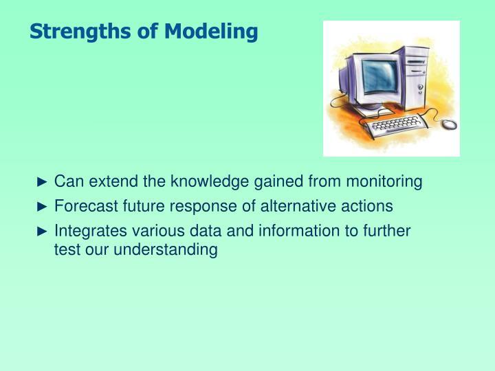 Strengths of Modeling