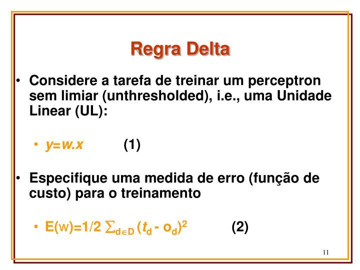 Regra Delta