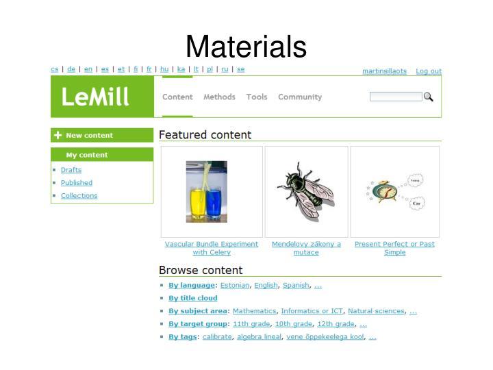 Materials
