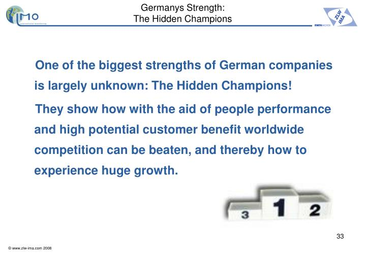 Germanys Strength: