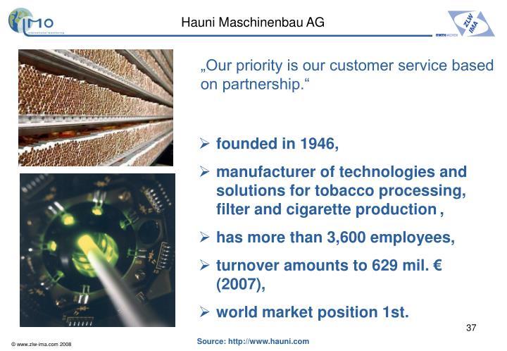 Hauni Maschinenbau AG