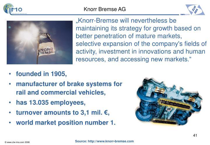Knorr Bremse AG