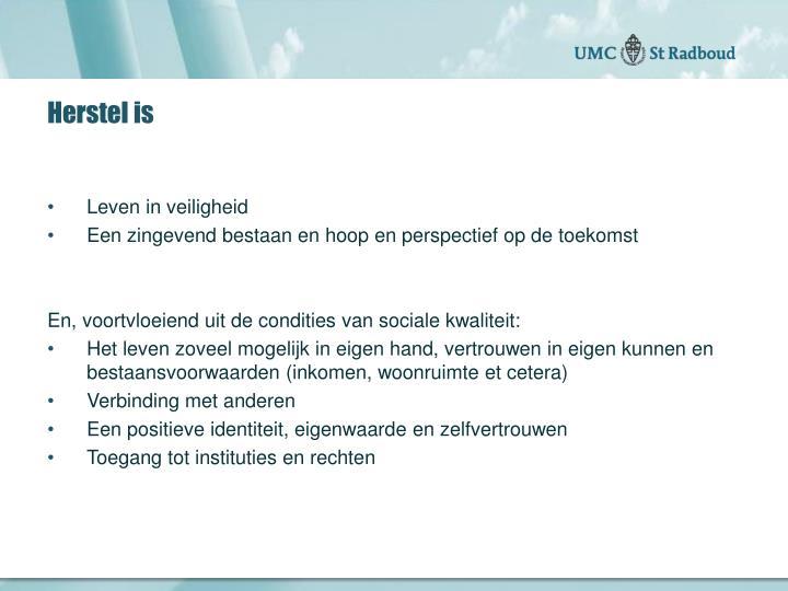 Herstel is