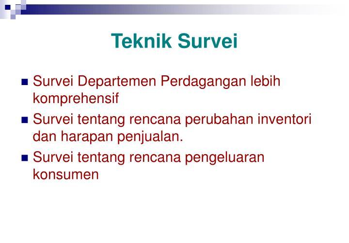Teknik Survei