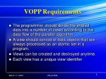 vopp requirements