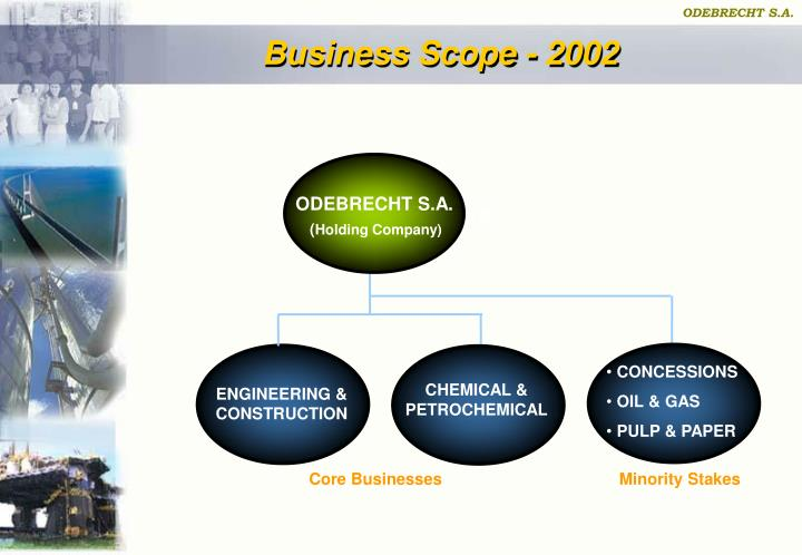 Business Scope - 2002