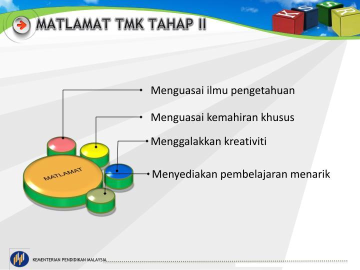 MATLAMAT TMK TAHAP II