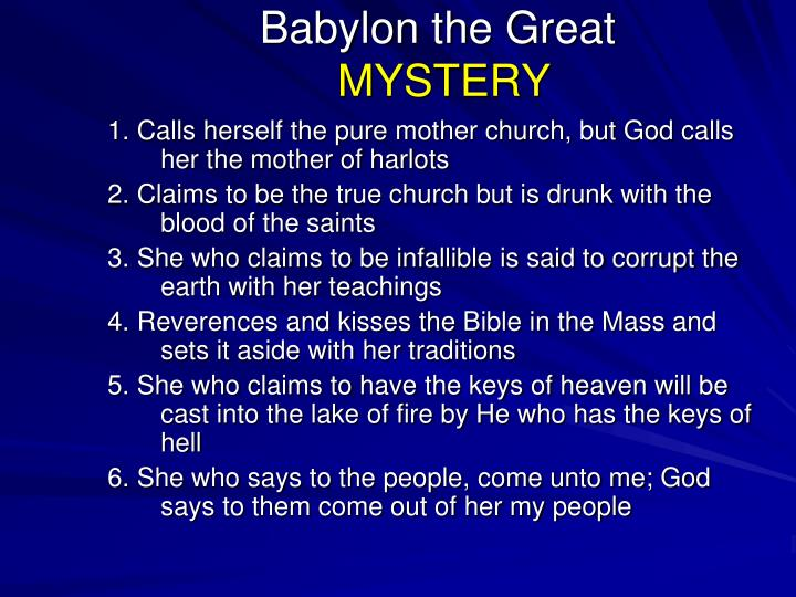 Babylon the Great