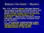 babylon the great mystery1