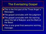 the everlasting gospel1