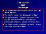 the image and the mark