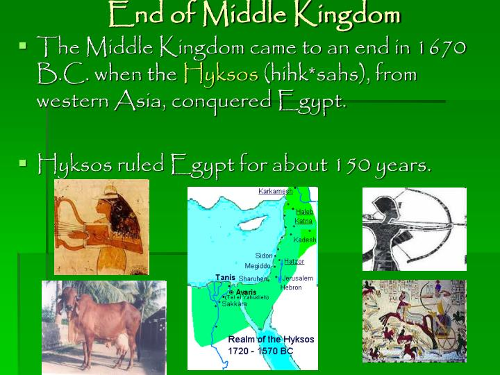 End of Middle Kingdom