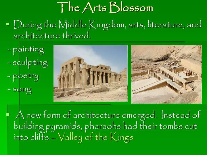 The Arts Blossom