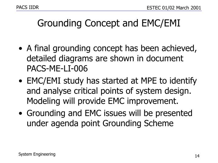 Grounding Concept and EMC/EMI