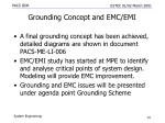 grounding concept and emc emi