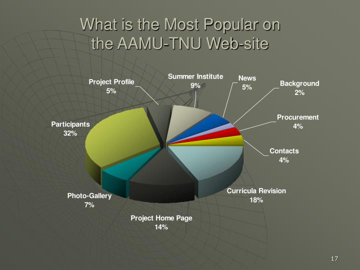 What is the Most Popular on