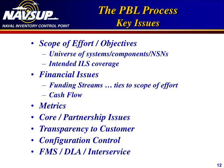 Scope of Effort / Objectives