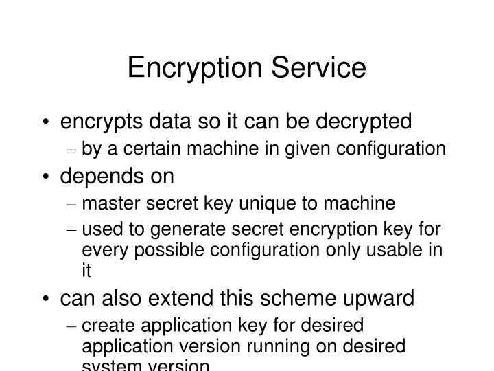 Encryption Service
