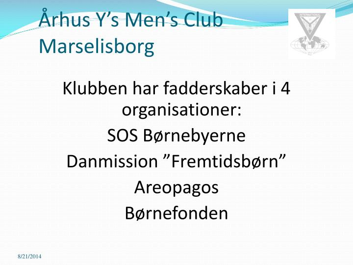 Rhus y s men s club marselisborg