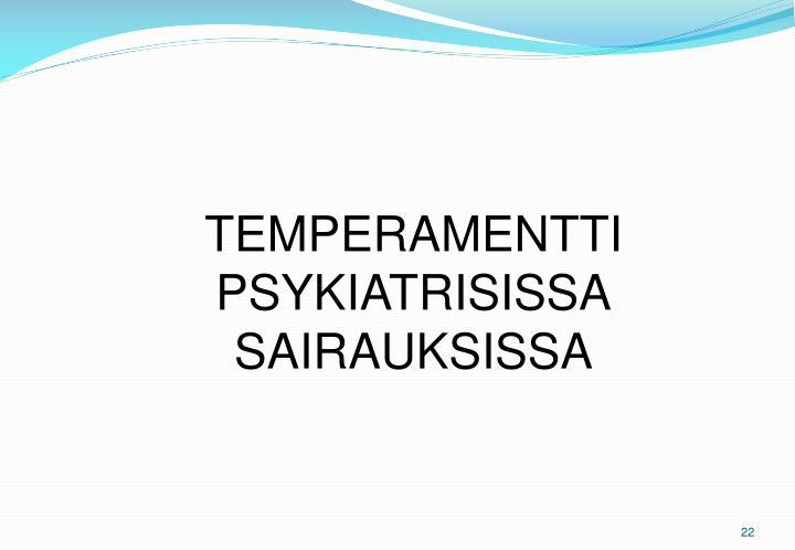 TEMPERAMENTTI