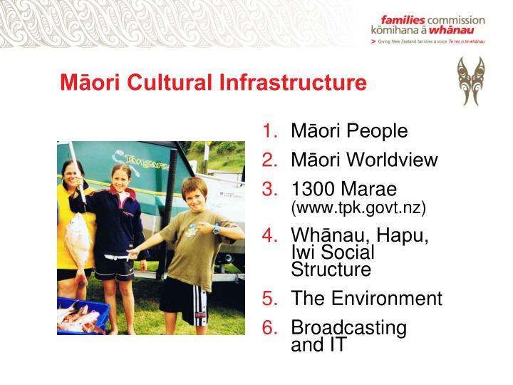 Māori Cultural Infrastructure