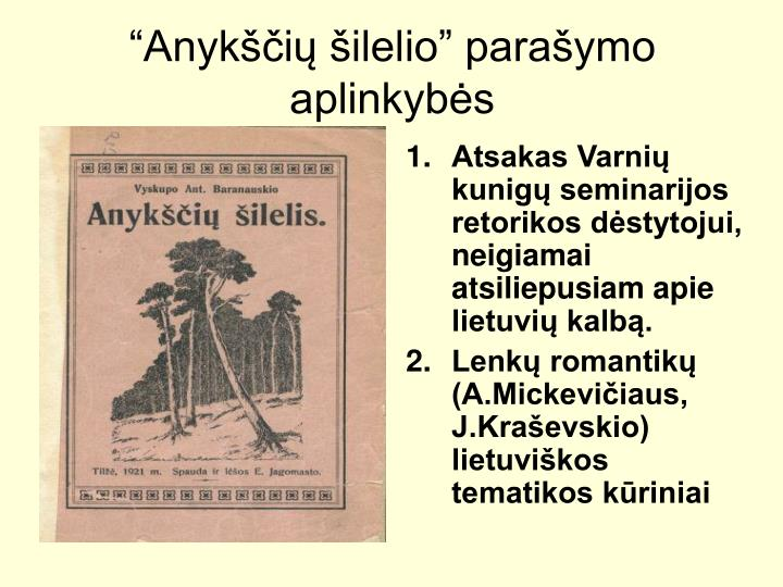 Atsakas Varni kunig seminarijos retorikos dstytojui, neigiamai atsiliepusiam apie lietuvi kalb.