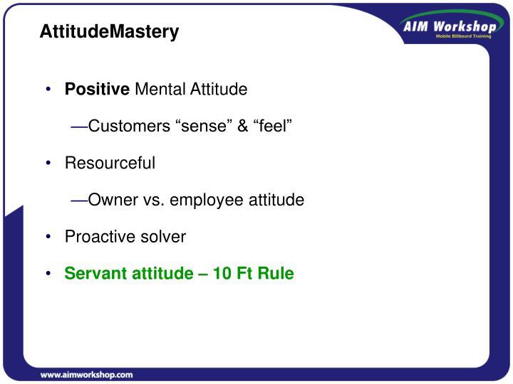 AttitudeMastery