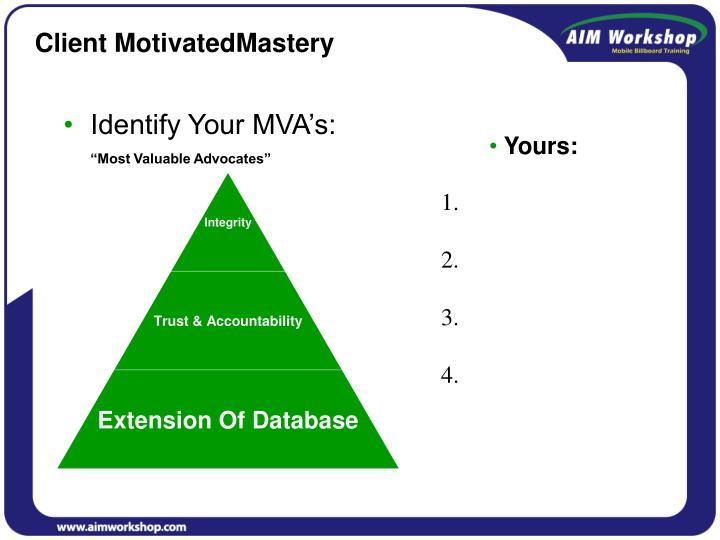 Client MotivatedMastery