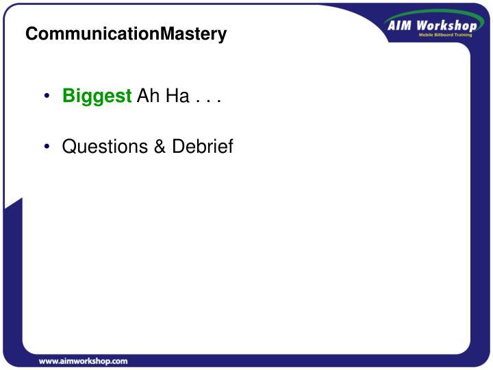 CommunicationMastery
