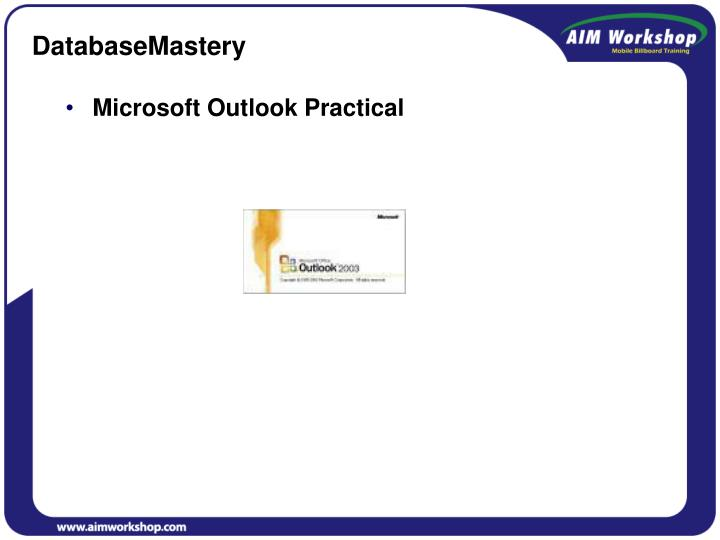 DatabaseMastery