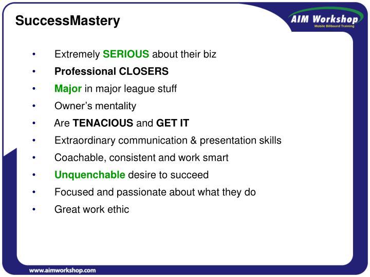 SuccessMastery