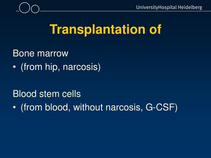 Transplantation of