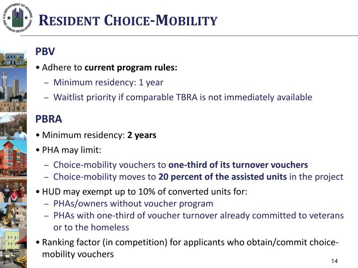 Resident Choice-Mobility