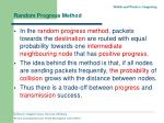 random progress method