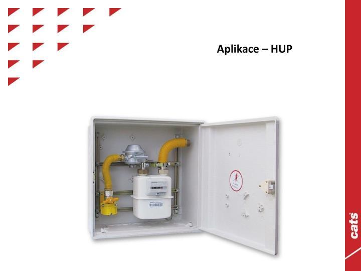 Aplikace – HUP