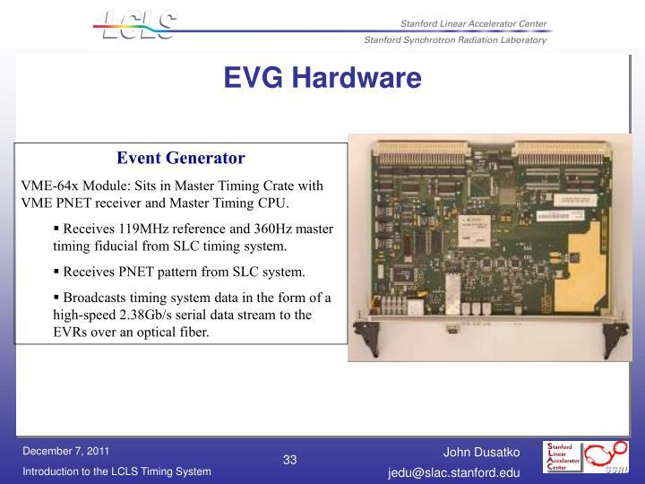 EVG Hardware