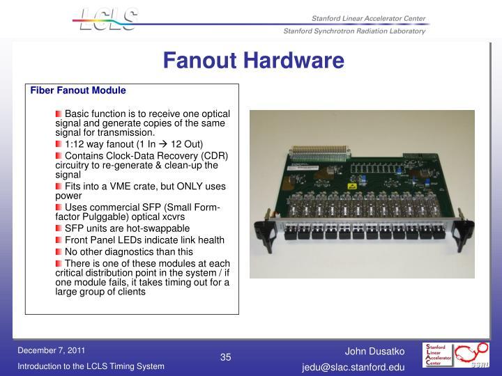 Fanout Hardware