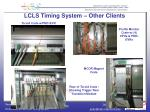 lcls timing system other clients