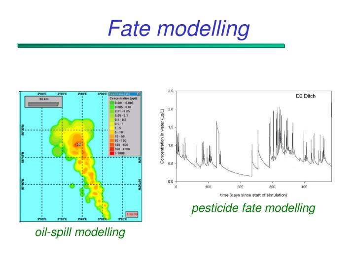 pesticide fate modelling