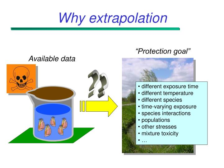Why extrapolation