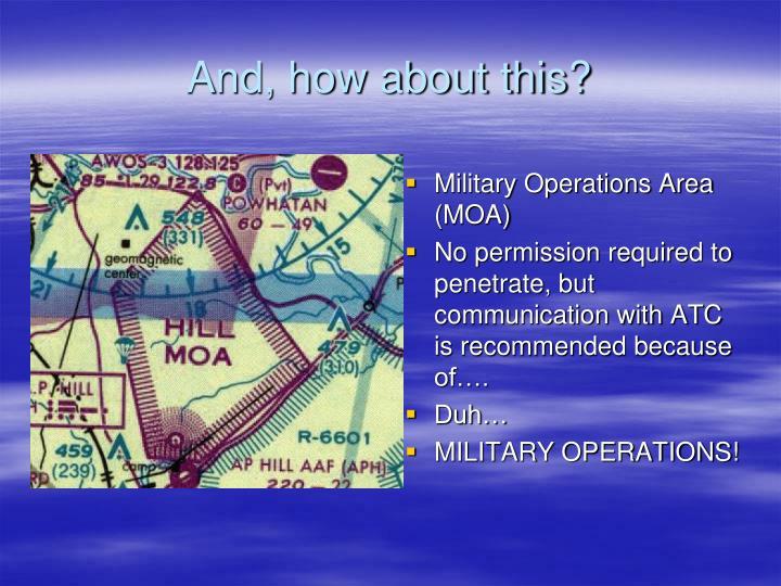 Military Operations Area (MOA)