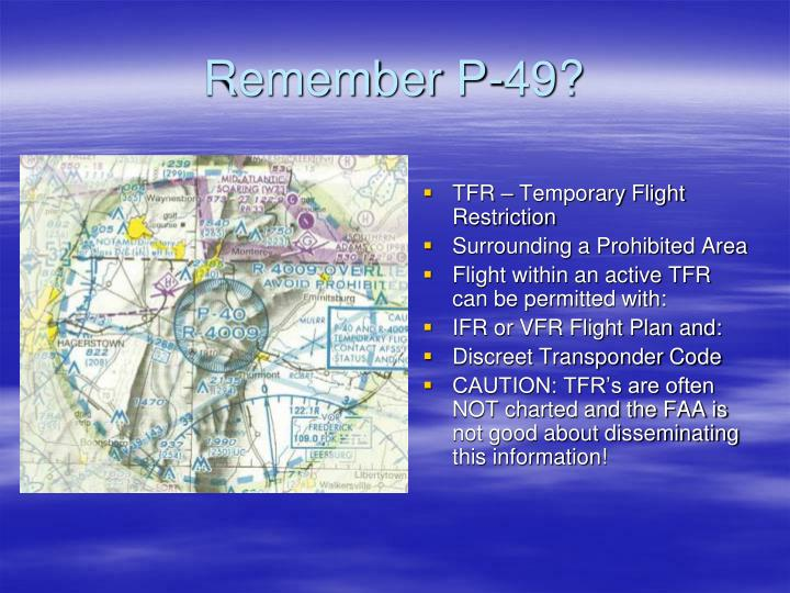 TFR – Temporary Flight Restriction