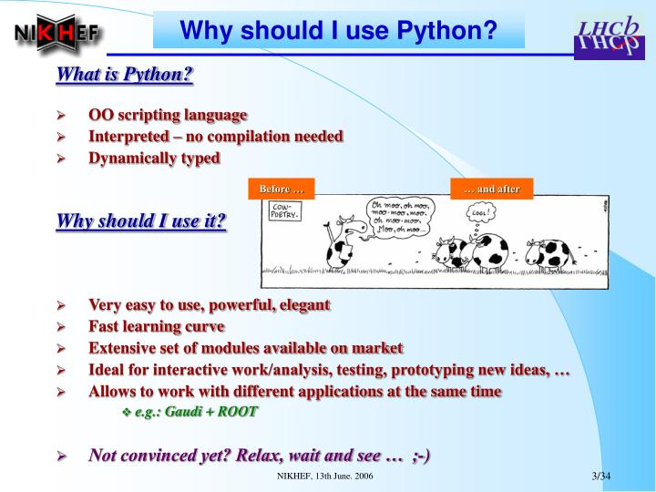 Why should I use Python?